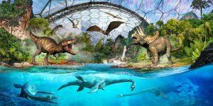 Eden Project Dinsosaurs