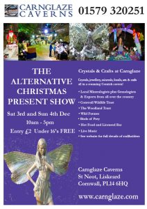 Carnglaze Caverns Alternative Christmas Shopping