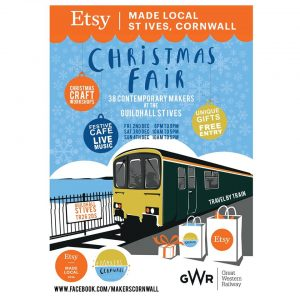 St Ives Etsy Made Local Christmas Shopping