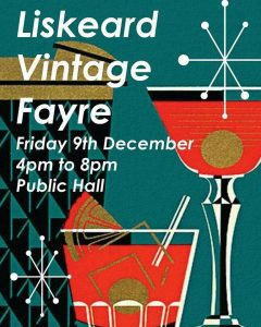 Liskeard Vintage Fair Christmas Shopping