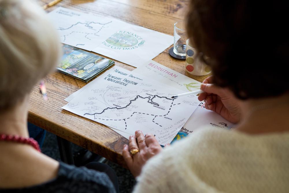Cornwall 365 Cultural Ambassadors mapping