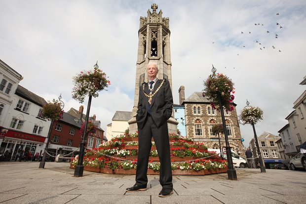 Launceston Mayor Brian Hogan Gorsedth Kernow Proclamation Cornwall 365 Cornish Cultural Calendar