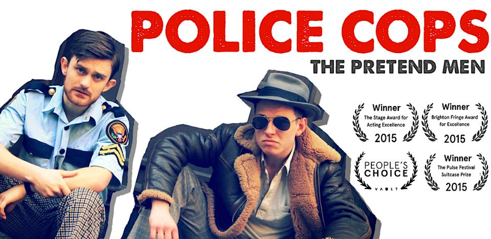 Police Cops The Pretend Men theatre Cornwall 365 February Top Picks What's On Cornwall