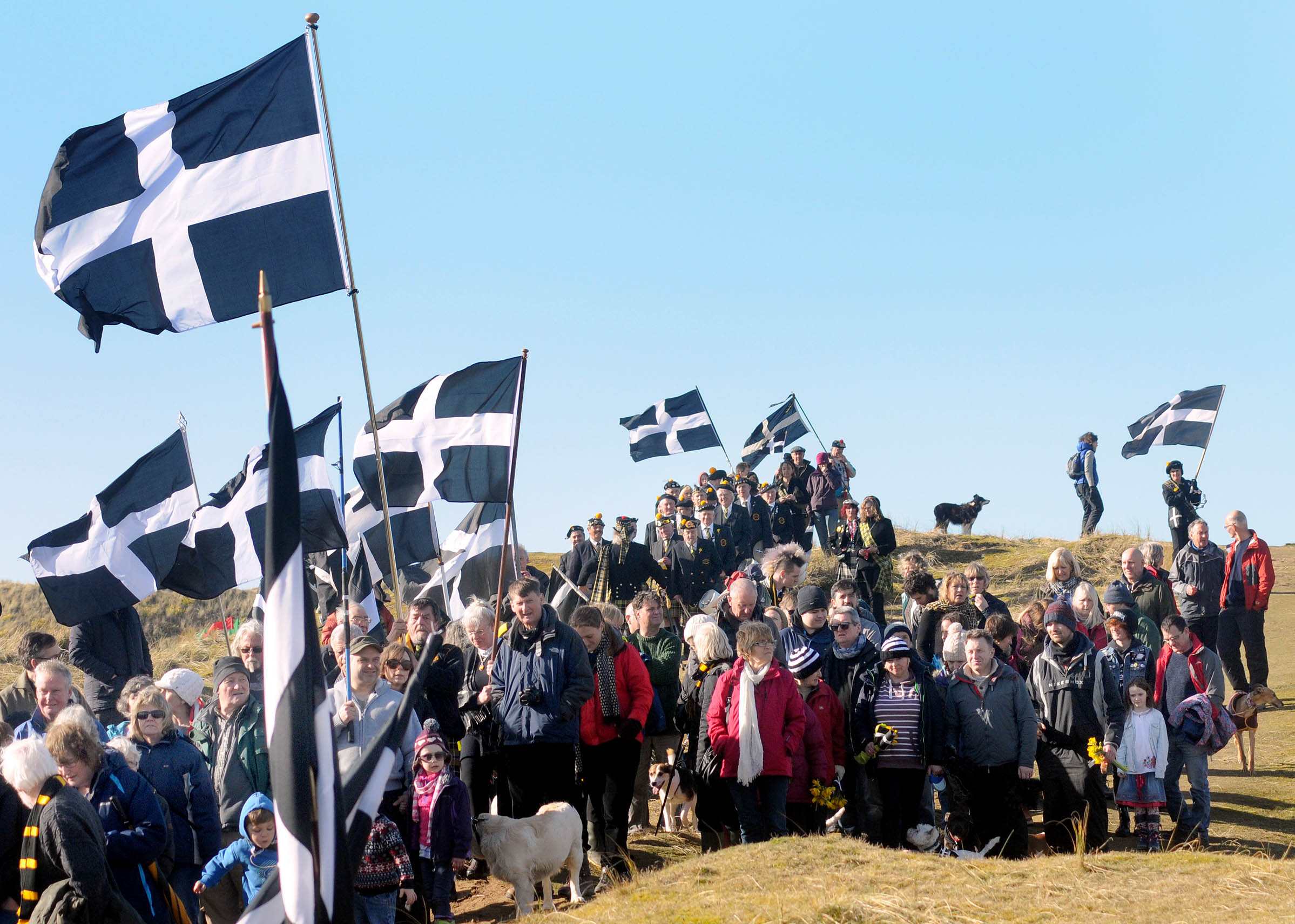Perranporth St Piran's Day Gorsedh Cornwall 365 Cornish Cultural Calendar