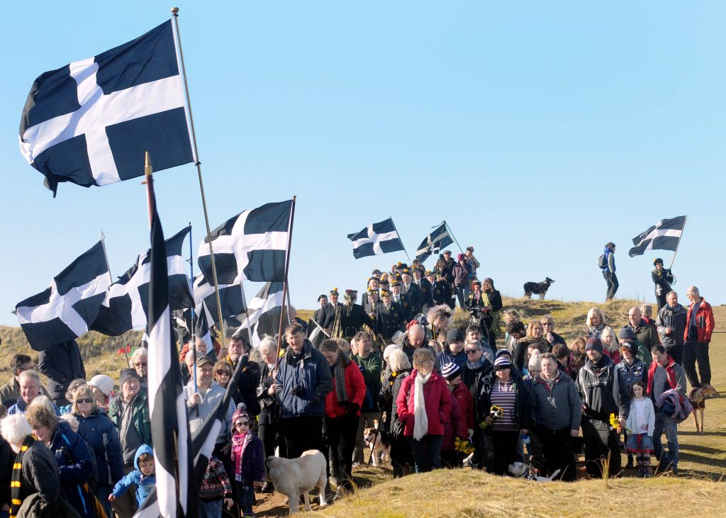Cornwall 365 St Piran's Day 2017 Perranporth
