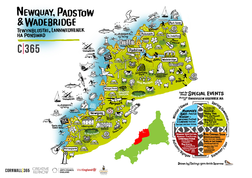 Maps - Cornwall 365