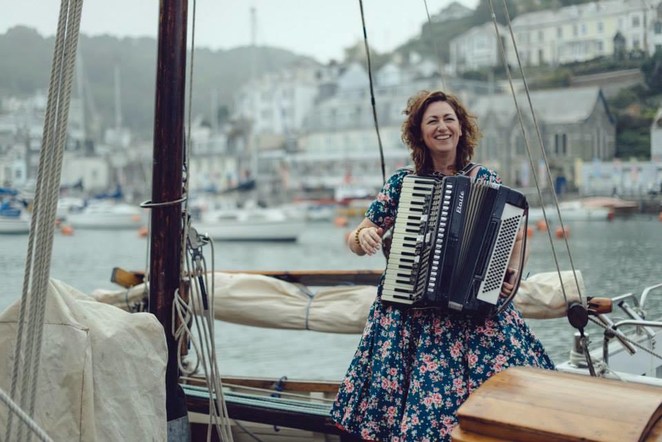 Tanya Brittain Looe Music Festival Ambassador of the Month