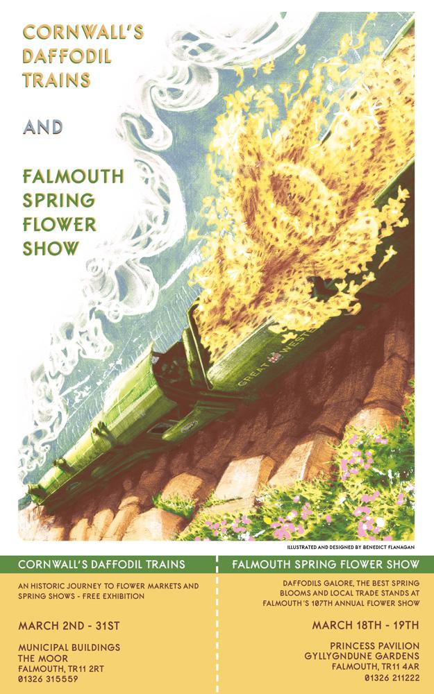 Cornwall's Daffodil Trains Cornwall 365