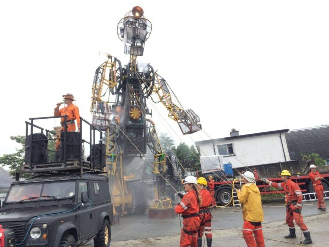 man engine national lottery award