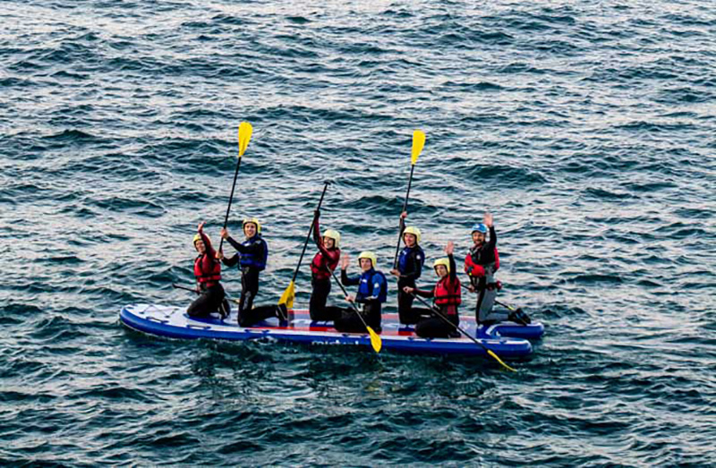 Super SUP Cornwall Castaway Challenge